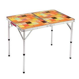 コールマン(COLEMAN) ナチュラルモザイクリビングテーブル/90プラス キャンプ用品 ファミリーテーブル 2000026752