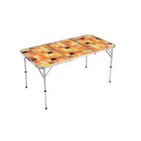 ● 【送料無料】 COLEMAN (コールマン) キャンプ用品 ファミリーテーブル ナチュラルモザイクリビングテーブル/140プラス 2000026750