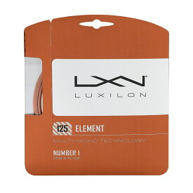 WILSON (ウィルソン) テニス ストリングス ELEMENT 125 SET BRONZE WRZ990105