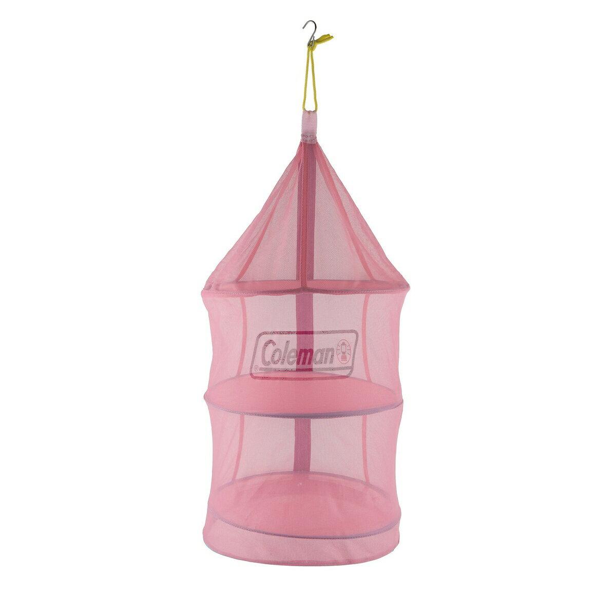 ● COLEMAN (コールマン) キャンプ用品 テーブルウェアアクセサリー ハンギングドライネットII(ピンク) 2000026812