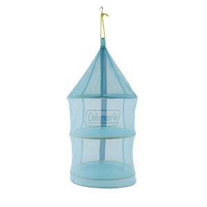 ● コールマン(COLEMAN) ハンギングドライネットII(ブルー) キャンプ用品 テーブルウェアアクセサリー 食器セット ブルー 2000026813