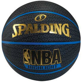 ● SPALDING (スポルディング) バスケットボール 7号ボール ブルーハイライト 7 7 ブルー 73-902Z