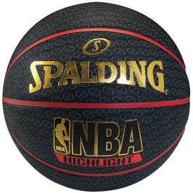 【楽天カード利用で最大7倍 11月19日20:00から26日1:59】SPALDING (スポルディング) バスケットボール 7号ボール レッドハイライト 7 7 レッド 73-904Z