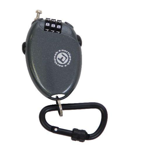 ウインター スノーボードグッズアクセサリー CABLE LOCK (CARABINER) 「.」 BK NP-3308