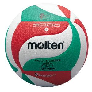 molten (モルテン) フリスタテックボール 軽量4号球 バレーボール 4号軽量 4 WHT V4M5000-L