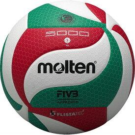 ● 【送料無料】 molten (モルテン) バレーボール 5号ボール フリスタテックボール 5号球 5 WHT V5M5000