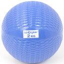 s.a.gear (エスエーギア) フィットネス 健康 その他ウェイト用品 トーニング・ボール2KG 2KG ブルー SA-Y16-203-009
