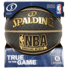 SPALDING (スポルディング) バスケットボール 6号ボール ゴールドハイライト SA 6 ゴールド系 83-141Z