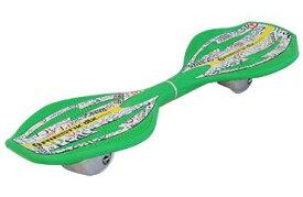 ● ラングスジャパン リップスティック デラックス ミニ キャスターボード ピースグリーン ホイール エクストリーム スケートボード ジュニア ピースグリーン RIPSTICK DLXMINI GR