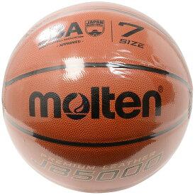 ● 【送料無料】 molten (モルテン) スポーツ・フィットネス バスケットボール ボール 7号ボール 天皮バスケット検定球 7号 メンズ 7号球 オレンジ B7C5000