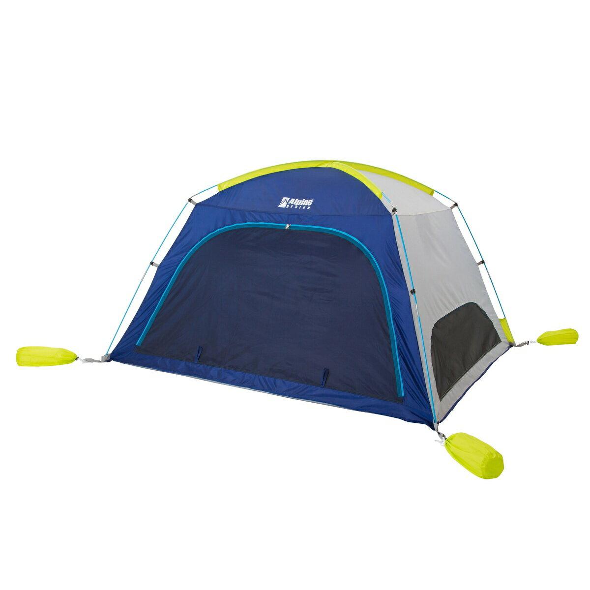 ● Alpine DESIGN (アルパインデザイン) キャンプ用品 サンシェード スクリーンサンシェード ネイビー AD-S17-402-012