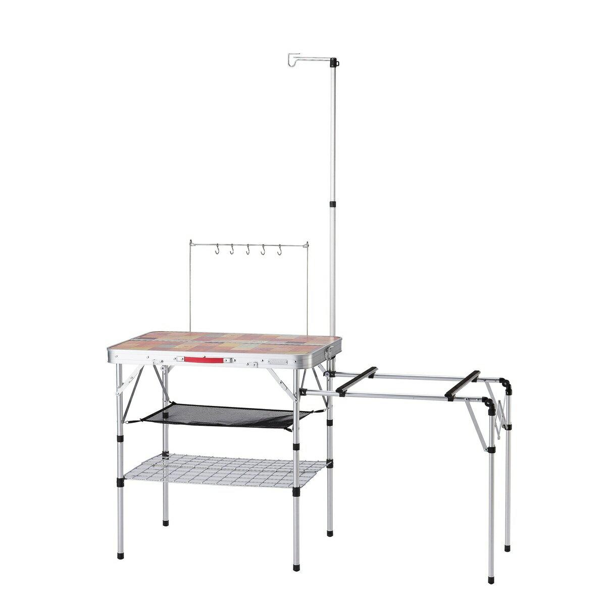 ● 【送料無料】 COLEMAN (コールマン) キャンプ用品 キッチンテーブル 一体型テーブル オールインワンキッチンテーブル 2000031294