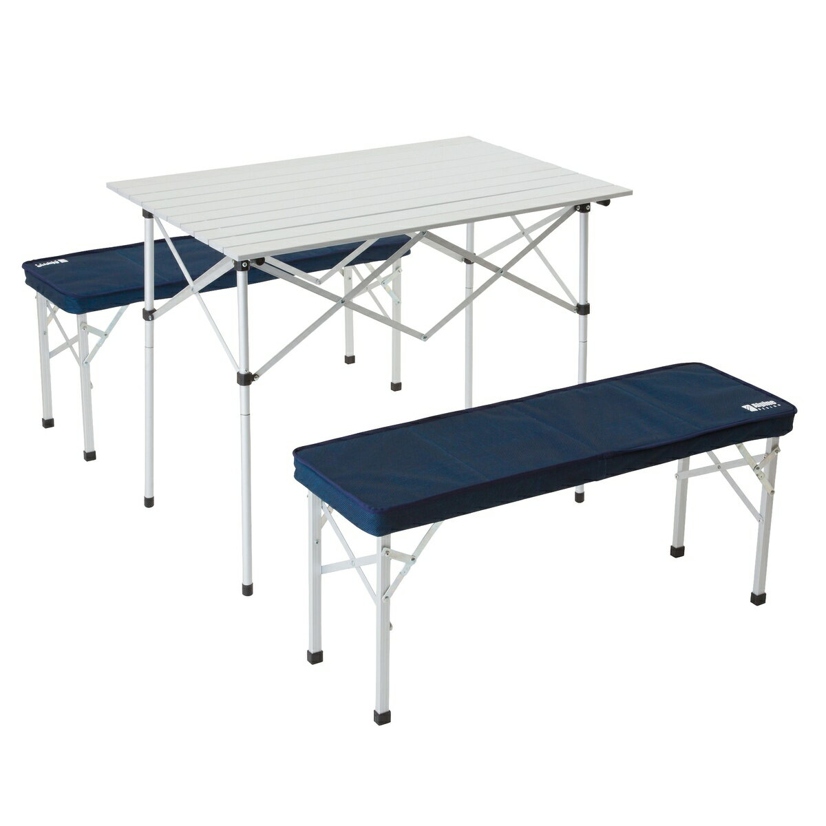● Alpine DESIGN (アルパインデザイン) キャンプ用品 キッチンテーブル 一体型テーブル 2WAY テーブルベンチセット AD-S17-402-038