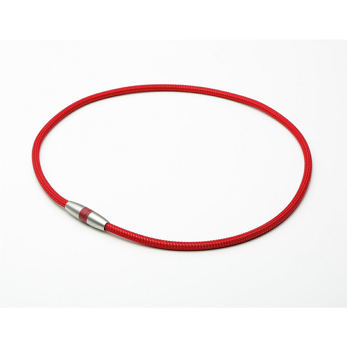 phiten (ファイテン) スポーツアクセサリー 健康アクセ RAKUWA磁気チタンネックレス ボルドー/メタリックレッド 45CM 45CM BLU 0217TG743152