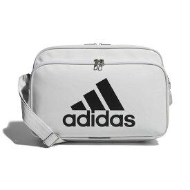 ● adidas (アディダス) エナメルバッグM スポーツアクセサリー エナメルバッグ NS ホワイト/ブラック ETX12 CX4041