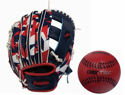 FRANKLIN(フランクリン) 野球 ジュニアトイ 9.5インチ DIGIグローブ NAVY/RED メンズ NVY 22848K6