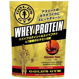 【送料無料】 GOLD'S GYM (ゴールドジム) サプリメント ホエイプロテイン ホエイプロテイン+ホエイペプチド&ビタミン チョコレート風味 1500g F5515