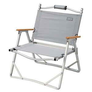 ● コールマン(COLEMAN) コンパクトフォールディングチェア(グレー) キャンプ用品 ファミリーチェア 椅子 2000033561