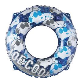 ● サマー レジャー 大人用浮き輪 スヌーピー うきわ 80 ブルー S-033208