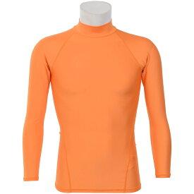 s.a.gear (エスエーギア) サッカー 長袖インナーシャツ 長袖ストレッチアンダー メンズ オレンジ SA-Y18-002-012