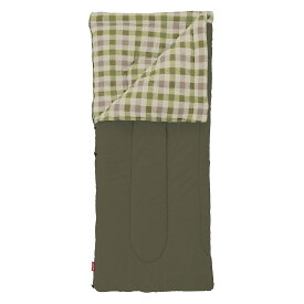 ● コールマン(COLEMAN) キャンプ用品 スリーピングバッグ 寝袋 封筒型 フリースEZキャリー/C0(オリーブリーフ) 2000033802