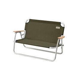 ● コールマン(COLEMAN) リラックスフォールディングベンチ(オリーブ) キャンプ用品 ベンチ コット オリーブ 2000033807