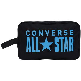 ● CONVERSE (コンバース) バスケットボール シューズアクセサリー シューズケース _ BLKSAX CM1815097-1921