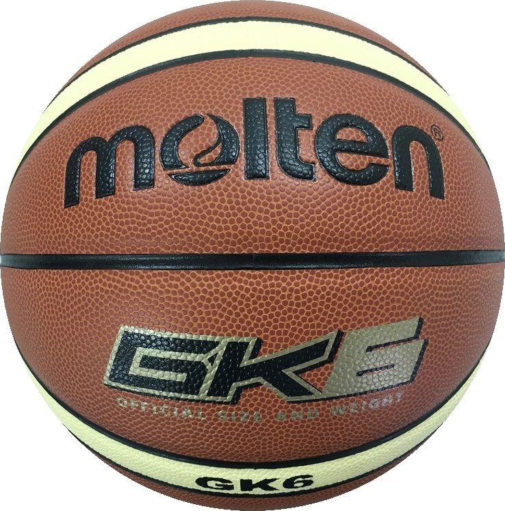 ● molten (モルテン) バスケットボール 6号ボール 人工皮革バスケットボール レディース 6号球 ブラウン×クリーム BGK6