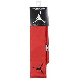 ● NIKE (ナイキ) バスケットボール アクセサリー ジョーダン ジャンプマン DRI-FIT ヘッド タイ F ジムレッド/ブラック JD2002 605