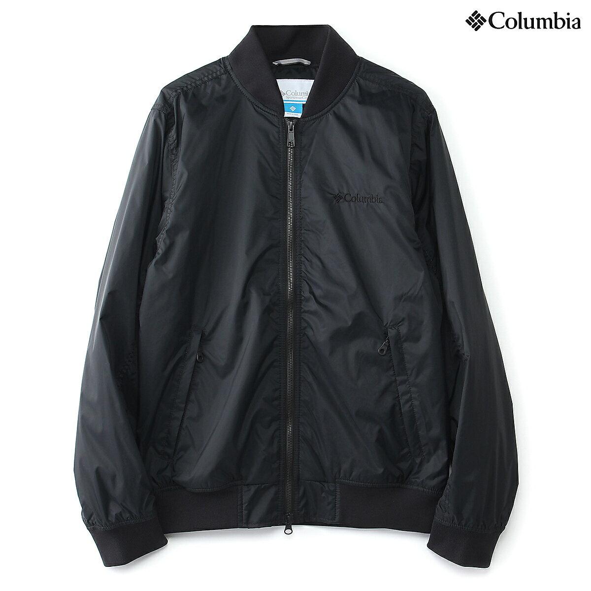 ● 【送料無料】 Columbia (コロンビア) トレッキング アウトドア 厚手ジャケット アメリカンボーダーパスジャケット メンズ BLACK PM5351-010