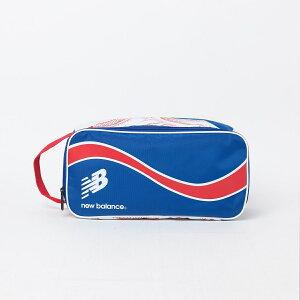 New Balance (ニューバランス) スポーツアクセサリー ポーチ プリントシューズケース メンズ OSZ レーザーブルー JABL8706LSB