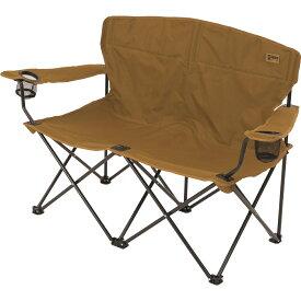 Alpine DESIGN (アルパインデザイン) ペアアクションチェア キャンプ用品 ファミリーチェア 椅子 コヨーテブラウン AD-S19-015-043