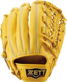 ZETT (ゼット) コウシキグラブ(プロステイタス)1901 野球 硬式グローブ LH トゥルーイエロー5400 BPROG450-5400