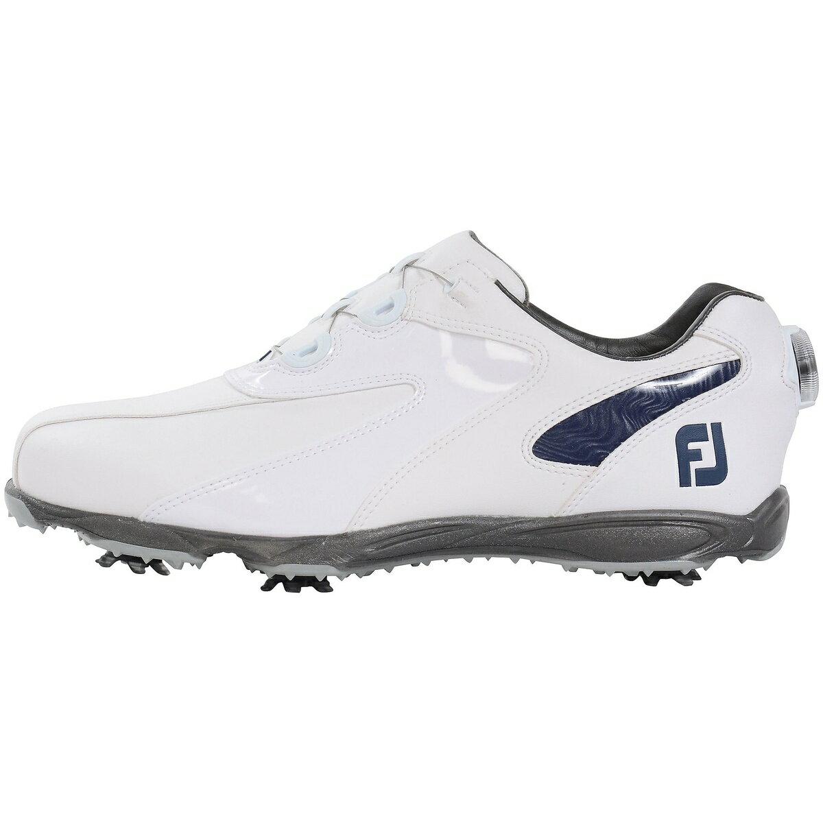 【送料無料】 FOOTJOY (フットジョイ) ゴルフ メンズゴルフシューズ 19 EXL SP ボア WT/NV メンズ WHT 45189