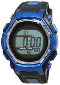 スポーツアクセサリー 時計 クレファー デンパソーラーウォッチ ブルー FDM7861-BL