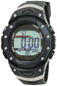スポーツアクセサリー 時計 クレファー デンパソーラーウォッチ ブラック FDM7863-BK