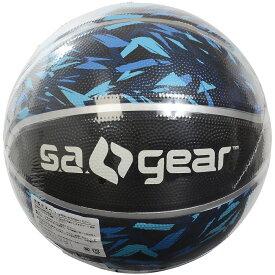 s.a.gear (エスエーギア) カラーバスケットボールBLU 7ゴウ スポーツ・フィットネス バスケットボール ボール 7号ボール 7ゴウ ブルー SA-Y19-003-047