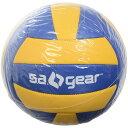 ● s.a.gear (エスエーギア) バレーボール 5号ボール バレーボール5号球 5ゴウ ブルー/イエロー SA-Y19-003-051