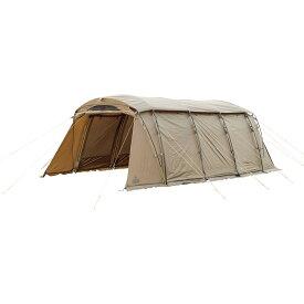● 【送料無料】 TARAS BOULBA(タラスブルバ) キャンプ用品 ファミリーテント キャタピラー2ルームシェルター6P カーキ TB-S19-015-001