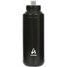 ATHFORM(アスフォーム) フィットネス 健康 ボトル カバー スクイズボトル1000ML 1000ML ブラック AF-Y19-006-001