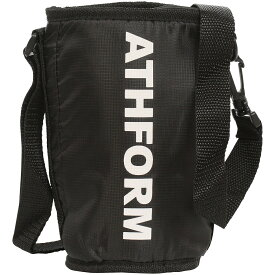 ATHFORM(アスフォーム) フィットネス 健康 ボトル カバー スクイズボトルケース ブラック AF-Y19-006-007