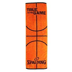 SPALDING (スポルディング) バスケットボール アクセサリー ボールモチーフタオル オレンジ SAT130290