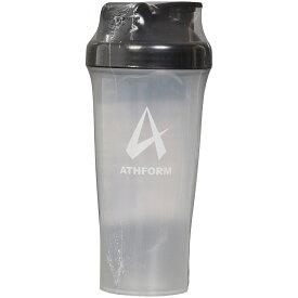 ATHFORM(アスフォーム) フィットネス 健康 ボトル カバー プロテインシェイカー600ML 600ML ブラック AF-Y19-006-006