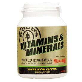 GOLD'S GYM (ゴールドジム) マルチビタミン&ミネラル 180 サプリメント F2510