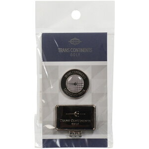 ゴルフ ゴルフ用品アクセサリー TCCM−07 クリップ&マーカー BK ブラック TCCM-07