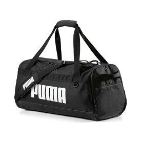● PUMA (プーマ) スポーツアクセサリー エナメルバッグ プーマ チャレンジャー ダッフルバッグ メンズ プーマ ブラック 07662101