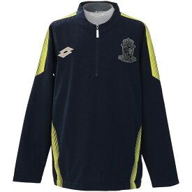 ● LOTTO (ロット) サッカー ジュニアウインド ジュニア裏メッシュジャケット ボーイズ ネイビー LO-F19-002-054
