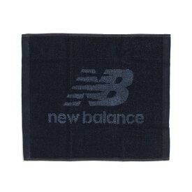 New Balance (ニューバランス) スポーツアクセサリー ハンドタオル フェイスタオル S ブラック/ホワイト MA934305BKW