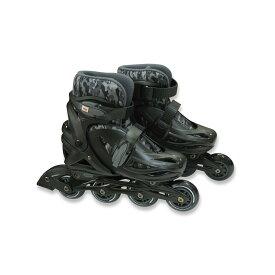 ● 【送料無料】 SPORTS AUTHORITY (スポーツオーソリティ) ホイール エクストリーム ジュニアインラインスケート ジュニアインラインスケートセット ジュニア ブラックXグレー EX-Y19-017-101
