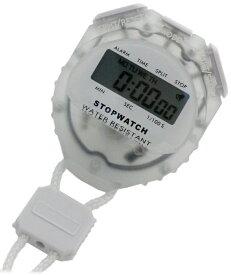 スポーツアクセサリー 時計 クレファー ストップウォッチ ホワイト TCE-2056-WT